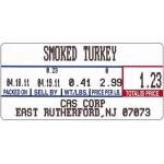 LST-8000 CAS Non UPC Scale Labels